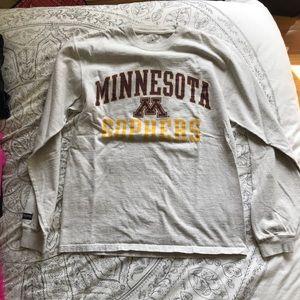 Tops - University of Minnesota Long Sleeve T Shorts